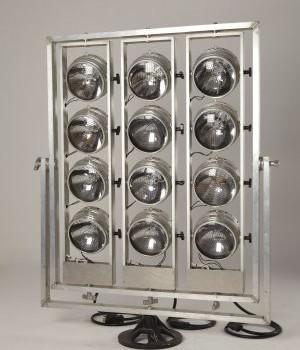 Maxi Brut 12 lâmpadas giratórias