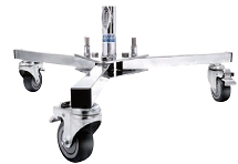 Base com rodas p/ refletor