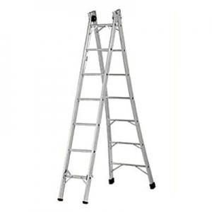 Escada tesoura alumínio 2,80 à 5M