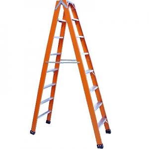 Escada tesoura fibra vidro 1,20CM à 2M
