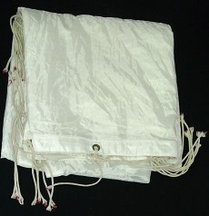 Pano nylon branco 6 x 6
